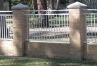 Cooyal Brick fencing 5